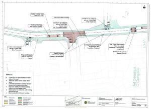 Donnybrook Hill pedestrian enhancement scheme